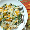 Tuna Rice Casserole with Spinach