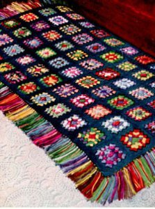 Free Crochet Patterns For Baby Blankets Girls Granny Squares