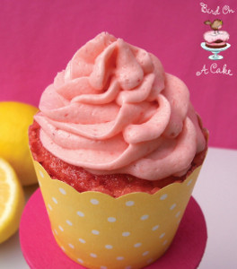 Sweet Strawberry and Lemonade Cupcakes