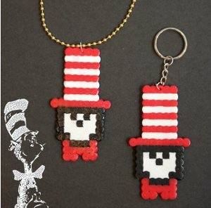 Cat in the hat pendant for Cat in the hat jewelry