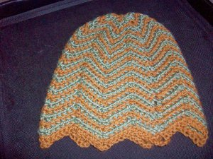 998375ec0e4 Choose your two favorite colors of yarn and get to work on this stylish Chevron  Crochet Hat today. This free crochet pattern is written for adults and uses  ...