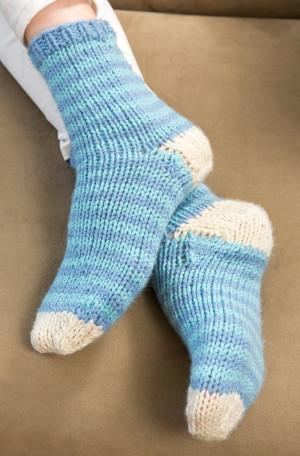 Lazy Day Knit Socks Allfreeknitting Com