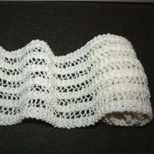 Wonderful One Row Lace Scarf Allfreeknitting Com
