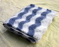 Cool Chevron Baby Blanket