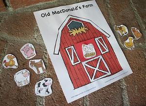 Free Printable Farm Animals Game | AllFreeKidsCrafts com