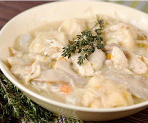 5-Minute Prep Chicken and Dumplings