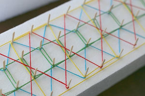 3D String Art Patterns