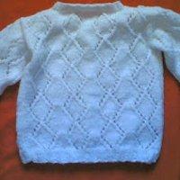 3e3cfc5d7 Diamond Lace Baby Cardigan