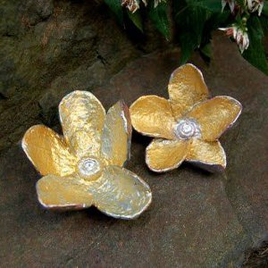 Golden Papier Mache Flowers Allfreepapercrafts