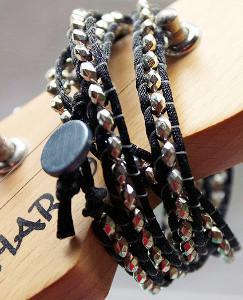 Classic Rocker Wrap Bracelet