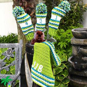 Perfect Crochet Golf Club Covers Allfreecrochet Com