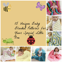 15 Unique Baby Blankets to Crochet for Your Special Little One