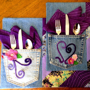 Glamtastic Jean Place Mats