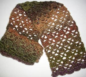 Funky Brick Crochet Scarf Pattern Allfreecrochetcom