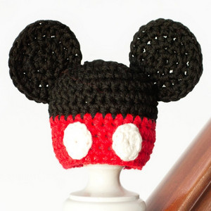Mickey Mouse Inspired Hat  6fc16745871
