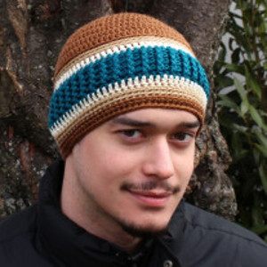 Just For Men Beanie Allfreecrochetcom