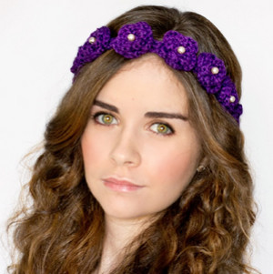 Daisy Flower Crown Crochet Pattern Allfreecrochetcom