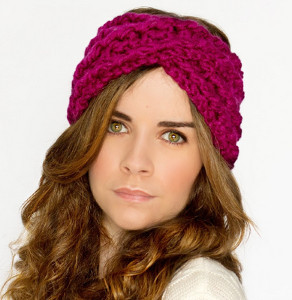 Criss Cross Crochet Headband Allfreecrochetcom