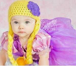 a0416a78226 Rapunzel Inspired Crochet Hat
