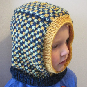 This knit balaclava pattern will help your kids ward off the chills. This  colorful Dice Check Balaclava is an adorable way to make sure your kids  stay ... d9efb80f92e