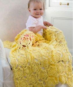 Daffodil Baby Blanket Allfreecrochet Com