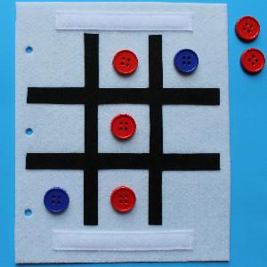 Tic Tac Toe Yo Yo Game Board Allfreesewing Com