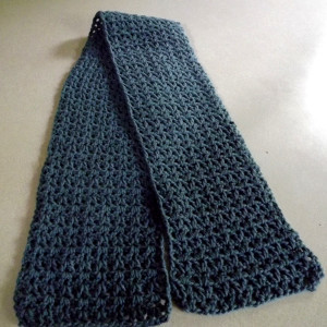 Crochet Scarf V Stitch
