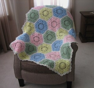Baby Boy Crochet Blanket Color Combos