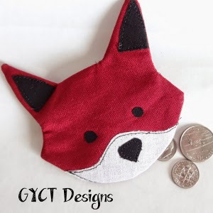 Diy Coin Purse No Sew Foxy DIY Coin Purse | ...