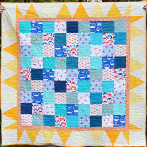 Here Comes the Sun Patchwork Quilt
