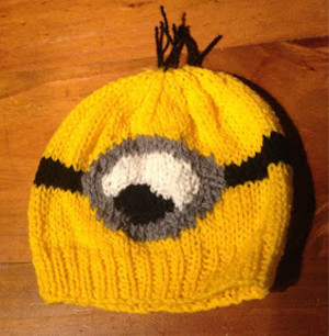 This Despicable Me Minion Hat is the perfect way to top off your Minion  costume. This adorable knit looks ... 195f7c91b25
