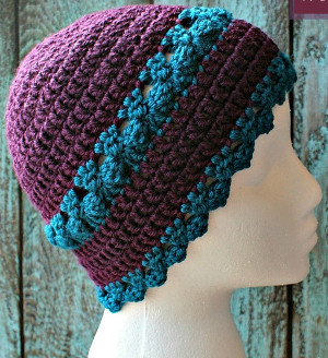 ac77e7baaf2 You ll feel like a goddess in this Just Divine Hat. With gorgeous crochet  clusters and a unique edge