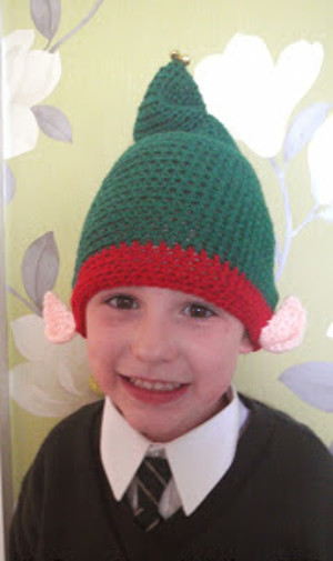 Holiday DIY Elf Hat