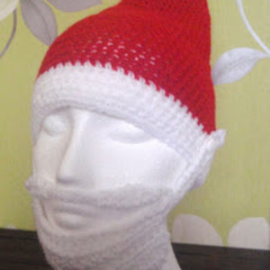 618001918bbb5 Easy Santa Hat with Beard