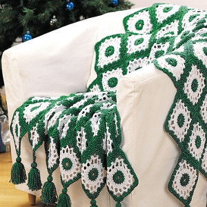 Alaskan Winter Crochet Afghan
