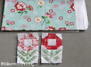 Pocket Of Posies Quilt Pattern.Pocket Full Of Posies Quilt Block Favequilts Com