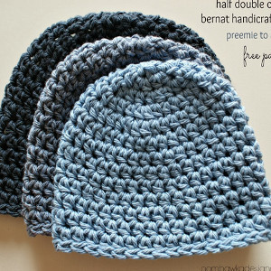 Free Patterns Crochet For Hats : Half Double Crochet Hat Pattern AllFreeCrochet.com