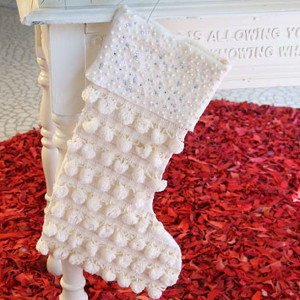 Stylish Homemade Stocking