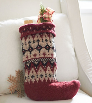 Gather your family around the fireplace with this knitted stocking pattern. Your loved ones will adore this Fantastic Fair Isle Stocking. Christmas is the ...