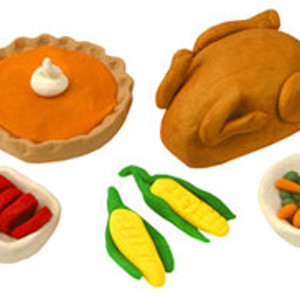 Fabulous Miniature Thanksgiving Dinner