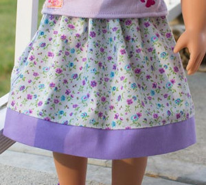 Free Skirt Pattern For Dolls Allfreesewing Com