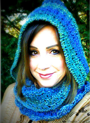 Amazing Grace Hooded Scarf Allfreecrochetcom