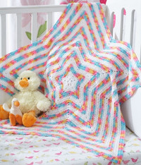 Shine Bright Star Baby Blanket