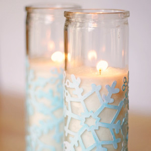 Alaska White Winter Votives