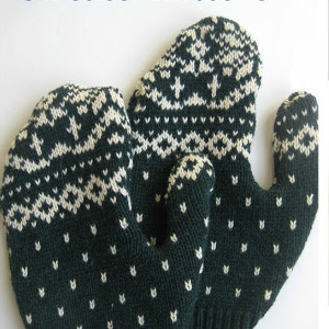 Adorable Repurposed Sweater Mittens