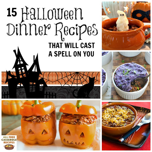 15 Halloween Dinner Recipes That Will Cast A Spell On You
