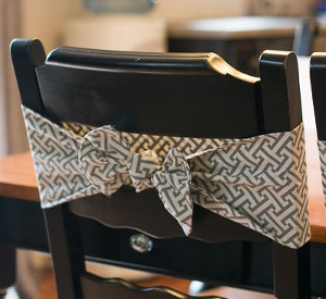 Peachy Darling Diy Chair Bows Allfreesewing Com Lamtechconsult Wood Chair Design Ideas Lamtechconsultcom