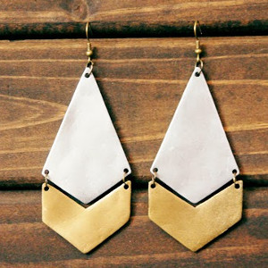 Polished DIY Earrings
