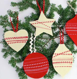Diy Felt Ornaments Allfreesewing Com