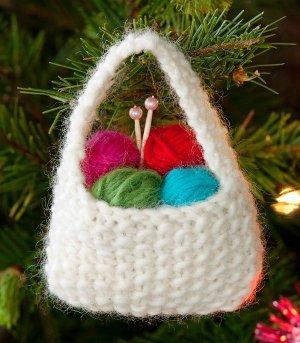 Yarnie Ornament Allfreeknitting Com